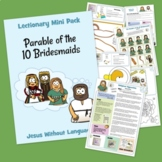Parable of the 10 Bridesmaids Kidmin Lesson & Bible Crafts