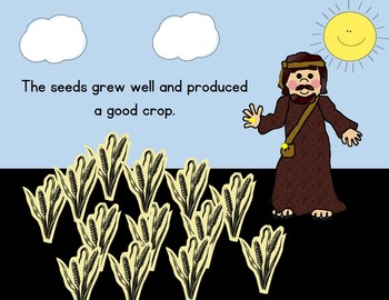 Parable of the Farmer and Seed SMARTBoard Lesson