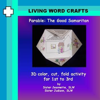 Parable of the Good Samaritan  3D Gr. 1-3