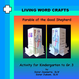 Parable of the Good Shepherd 3D Activity for Kindergarten to Gr.3