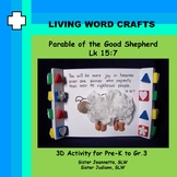 Parable of the Good Shepherd 3D Activity for Pre-K to Gr. 3
