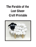 Parable of the Lost Sheep Craft, Elementary Bible Craft, L