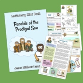 Parable of the Prodigal Son Kidmin Lesson & Bible Crafts