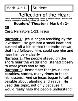 Parable of the Sower Activity Packet