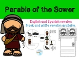 Parable of the Sower - English and Spanish version