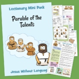 Parable of the Talents Kidmin Lesson & Bible craft