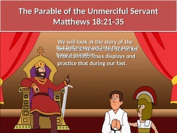 Parable of the unmerciful servant