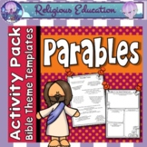 Parables of Jesus ~ Worksheets ~ The Lost Sheep, Prodigal Son and more!