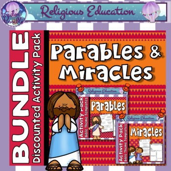 Parables and Miracles of Jesus ~ Bundle