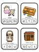 Parables in the Bible Beginning Sounds Clip It printable game. Preschool Bible