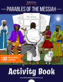 Parables of the Messiah Coloring Activity Book