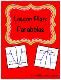 Parabola Lesson Plan