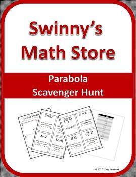Scavenger Hunt: Parabola