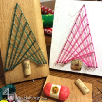 Parabola Tangent Line Christmas Tree Craft