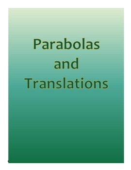 Parabolas and Translations
