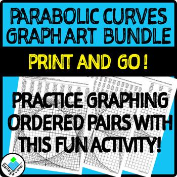 Parabolic Curve Graph Art Activities