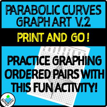 Parabolic Curve Graph Art Activity Version 2