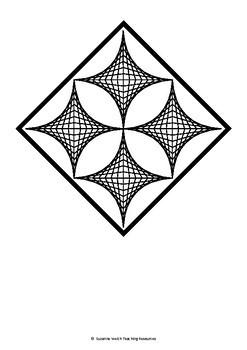 Parabolic Curves – Collaborative Art Project