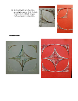 Parabolic String Art