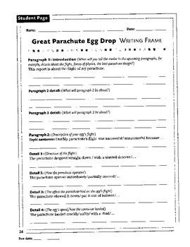 Parachute Egg Drop