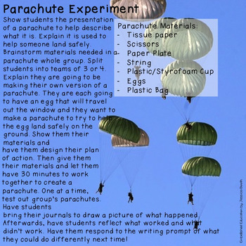 Parachute STEM for Early Learners {K-2}