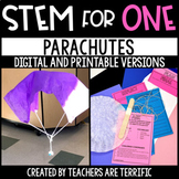 Parachutes STEM for One - Distance Learning