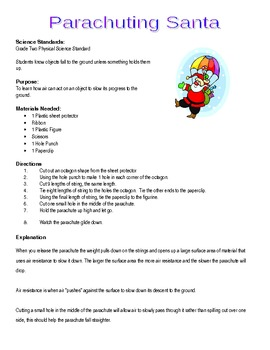 Parachuting Santa – Individual Holiday Extravaganza Lab