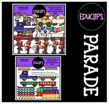 Parade Clip Art Bundle {Educlips Clipart}