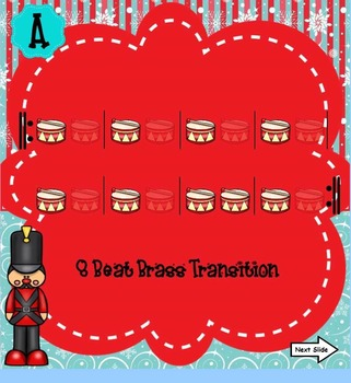 Parade of Wooden Soldier Listening Map/Play-a-Long/Color Sheet - PPT Ed.