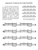 Paradiddle Independence Exercise for Drumset Players