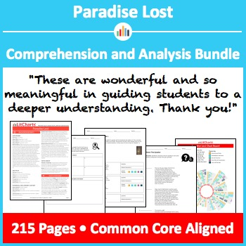 Paradise Lost – Comprehension and Analysis Bundle