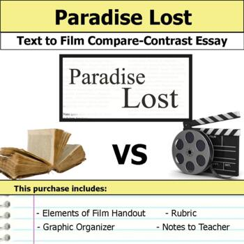 Process Paper Essay Paradise Lost  Text To Film Essay The Yellow Wallpaper Critical Essay also General English Essays Paradise Lost  Text To Film Essay By S J Brull  Tpt Apa Format Sample Essay Paper