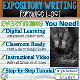 Paradise Lost by John Milton - Textual Evidence Analysis Expository Writing