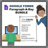 Paragraph-A-Day Digital and Distance Learning BUNDLE Sets 1 and 2