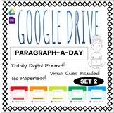 Paragraph-A-Day Google Forms Distance and Digital Learning