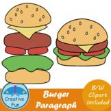 Paragraph Burger Clip Art