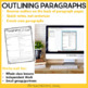 Paragraph Color Coding and Outlining for 3rd - 6th Grade | Paragraph Writing