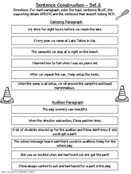 Paragraph Builders