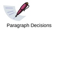 Paragraph Decisions