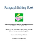Paragraph Editing Book Project