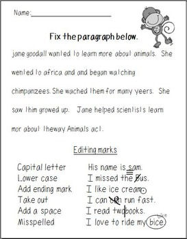 Paragraph Editing Pack