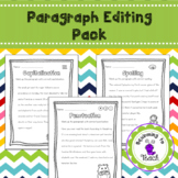 Paragraph Editing Sheets