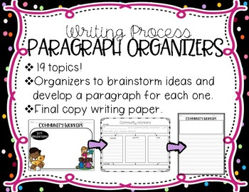 Writing Prompts and Graphic Organizers