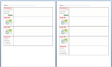 Paragraph Graphic Organizer - Differentiated (PDF)