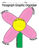 Paragraph Graphic Organizer - Flower