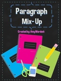Paragraph Mix Up! Sequencing Main Idea & Details Paragraph Sort w/ Task Cards!