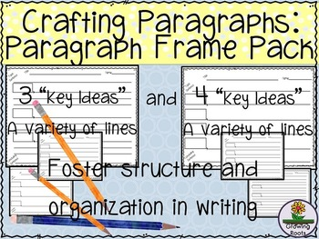 Paragraph Organization/Structure: How to, Non-Fiction, Research Writing Frames