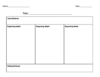 Paragraph Planner
