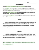 Paragraph Practice Worksheet, Elementary Paragraph Writing