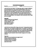 Paragraph Reading Practice - SPANISH